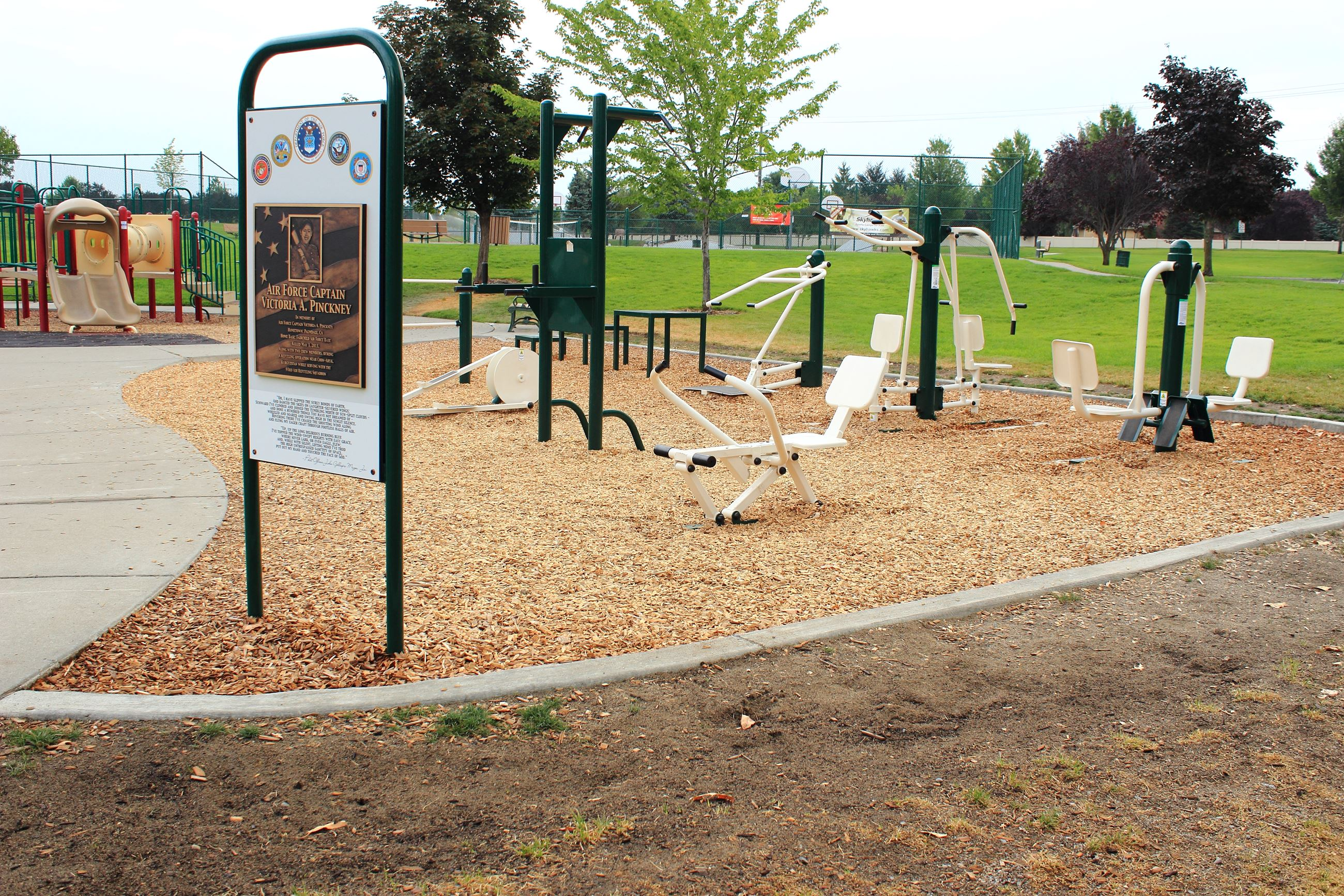 Pavilion Park Workout Station