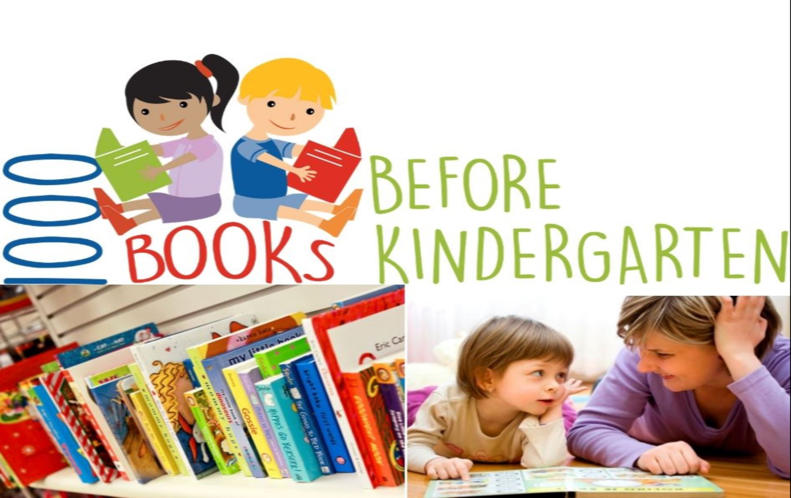 Register for 1000 Books Before Kindergarten